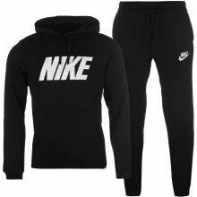 Nike Fleece GPX Tracksuit Mens Black/White