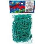 RAINBOW LOOM Original gumičky 600 kusov modrozelené