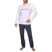cd42b733e Calvin Klein NM1603E pánské pyžamo dlouhé bílo černé