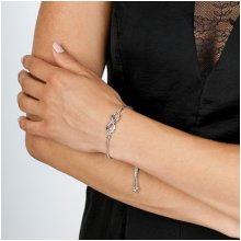 Hot Diamonds stříbrný náramek Infinity Draw DL526