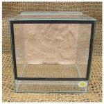 Robimaus Terárium oblovka 30x30x30 cm s pozadím