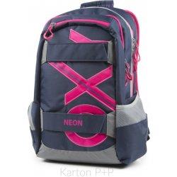 5d6f44e621b Školní batoh Karton P+P batoh Oxy Sport modrá Line růžová