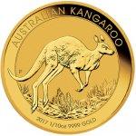 Kangaroo Investiční zlato zlatá mince 15 AUD Australian Klokan rudý 1 10 Oz 2017