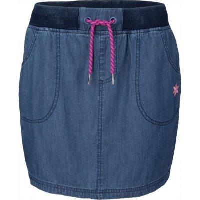 Willard KAZIA dámská sukně džínového vzhledu modrá