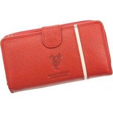 Harvey Miller Polo Club 5313 G16 červená dámská kožená peněženka