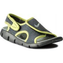 aa12667de45 od 832 Kč · Nike Sunray Adjust 4 386518 013 Dark Grey Wolf Grey Volt