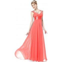 18fe8f7e3cb Ever Pretty plesové šaty s flitry 9672 lososová od 1 890 Kč - Heureka.cz