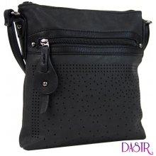 9939701f85 elegantní malá dámská crossbody kabelka 16081 černá