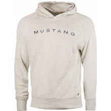 07c575d43d4 Mustang pánská mikina Fancy Hoodie šedá