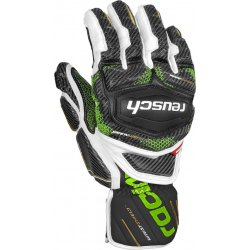 bf823c1d1f1 Reusch Race Tec 18 GS black white neon green