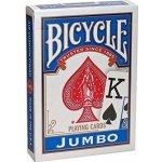 Bicycle Jumbo Face: Modrá