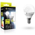 Moonlight LED žárovka E14 220-240V 7W 570lm 3000k teplá 25000h 2835 45mm/83mm