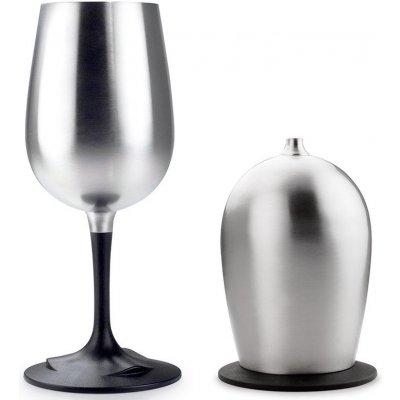 GSI Glacier Stainless Nesting Wine Glass