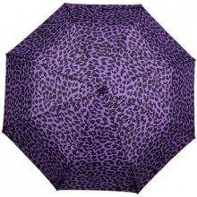 Dámský skládací deštník GEPARD fialový