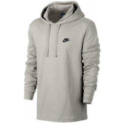 Pánská mikina Nike M NSW HOODIE PO JSY CLUB 807249-072 šedá 84ff85546d8