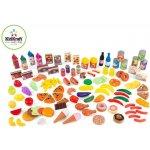 Kidkraft hrací set potraviny 115 ks