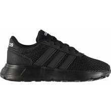 Adidas Lite Racer Infant Boys Trainers Triple Black 5156afceb9
