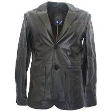 Giorgio di Mare kožené sako černá