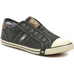 Skate boty Mustang 4058-401-9 černé pánské tenisky a622b44119