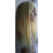 Tmt Paruka přirozený vzhled dlouhá 60 cm - Blond chemická