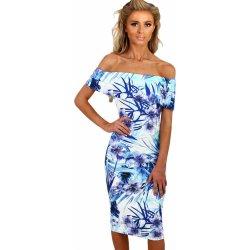 Dámské šaty letní květované modrá od 679 Kč - Heureka.cz 0418e98d71
