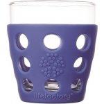 Lifefactory sklenice na nápoje 300 ml cobalt
