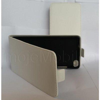 Pouzdro Forcell Slim Flip 2 Flexi Samsung S7580/S7582 Galaxy Trend Plus a S Duos 2 Bílé