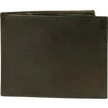 Casper pánská peněženka pravá kůže černá