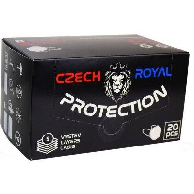 Czech Royal Protection respirátor FFP2 20 ks