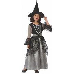 Dětský karnevalový kostým Made Čarodějka Šaty na karneval