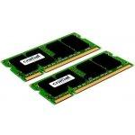 Crucial SODIMM DDR2 4GB KIT 667MHz CL5 CT2KIT25664AC667