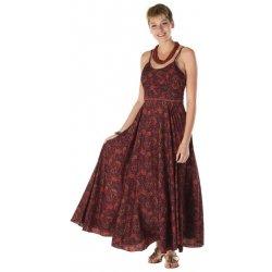 Dámské šaty Etno letní dlouhé šaty Delpha barevná ae48bedcbe