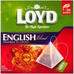 Loyd pyramids English blend černý čaj 50 x 1.75 g