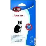 Trixie spot on pipety proti klíšťatům pro kočky na 12t. 3 x 0,9 ml