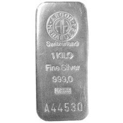 Argor Heraeus SA stříbrný slitek 1000 g