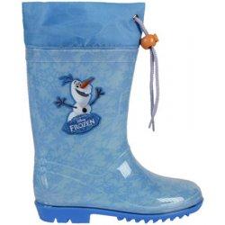 5dfd545ca Disney Brand Dětské holínky Frozen Olaf světle modré od 333 Kč ...