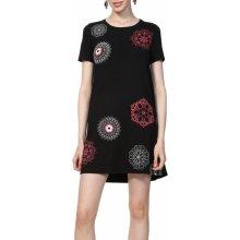 Desigual šaty Vest Liricaa s mandalami černá 11a58c10aa