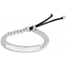 Michael Kors náramek padlock stretch MKJ3344 silver