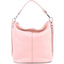 50205f5f21a2 Arteddy dámská kožená kabelka růžová