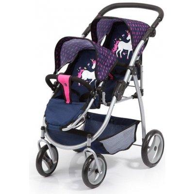 Bayer design Twin Jogger růžový/modrá