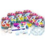 Glitters třpytivá sněžítka 3pack 6 druhů