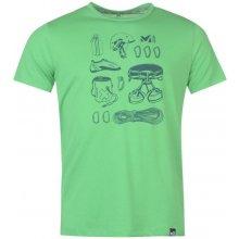 Millet Climbing T Shirt Mens Green