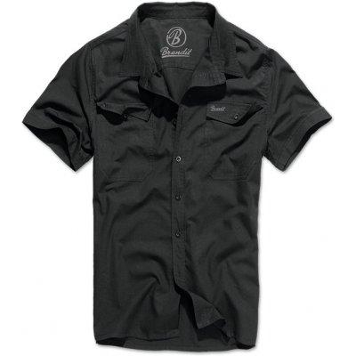 Brandit košile roadstar 1/2 černá