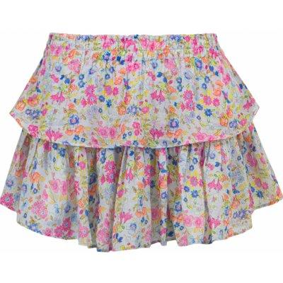 LoveShackFancy sukně Ruffle Mini Skirt