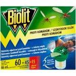 Biolit elektrický odpařovač proti komárům s tekutou náplní 46ml