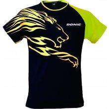 8c46d4b57f9 Donic tričko Lion černo-žluté černo-žlutá