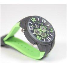 Quamer Sport Watch Black/Green
