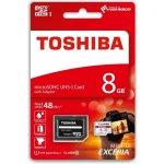 TOSHIBA microSDHC 8GB UHS-I U1 THN-M301R0080EA
