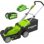 Greenworks G40LM41 s 4,0Ah a nabíječkou