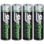Baterie SKY Green AAA 4 ks